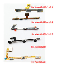 Power Button Volume Flex Cable For Xiaomi Mi5s M5s Plus Mi2 M2 Mi3 M3 Mi4 M4 Mi4i Mi4c Mi4s Mi5 M5 Mi Max Mi Note Pro(China)