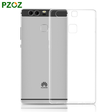 PZOZ Huawei P9 Case Silicone Cover Original Huawei P10 Smartphone Slim Transparent Phone Protection Soft Shell Hawei Huwei P 9