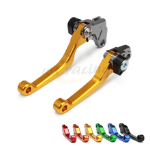 Buy CNC Motorcycle Billet Foldable Pivot Clutch & Brake Lever SUZUKI RMZ250 05-06 Dirt Bike Road for $13.50 in AliExpress store