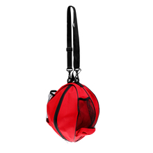 PVC Waterproof Backpack Basketball Carry Bag + Adjustable Shoulder Strap Red Volleyball Men Football Ball Bag Outdoor Sport Game(China)