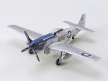 1/72 American P-51D Mustang fighter Assembly model  aircraft