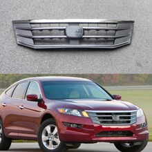 1Pcs Chrome Front Bumper Upper Radiator Grille Grill Insert for Honda Accord Crosstour 2010