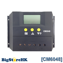 60A Solar Charge Controller 48V LCD Display PV Panel Battery Charge Controller Solar System Home Indoor Use CM6048(China)
