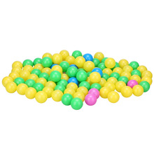 100pcs/set Kid Ocean Ball Soft Plastic Colorful Children Kids Secure Ocean Balls Baby Pits Swim Toys Kid Swim Ball Toy 4cm Gift
