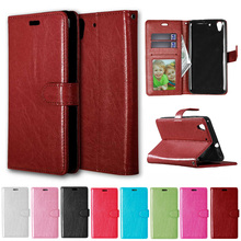 Flip Case for Huawei Y6ii Y6 ii 2 CAM L03 L21 L23 Case Phone Leather Cover for Huawei Y 6ii Y 6 II CAM-L03 CAM-L21 CAM-L23 Cases(China)