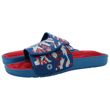 Rowoo Mens Massage Slip-on Cozy Memory Foam Flip Flops and Pool Shoes   (R101035603)