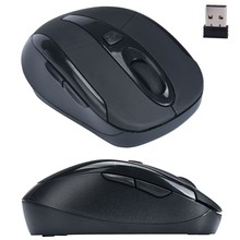 Malloom Simple Design Portable 2.4G Wireless Optical Mouse Mice For Computer PC Laptop Professional For Office Limited Promotion(China)