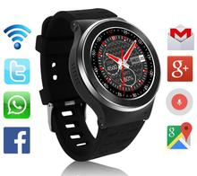 Slimy New Smart Watch Android 1.33'' 3G Calling 2.0MP Camera Wifi Pedometer Heart Rate Moniter PK X5 X02 K18 IWO KW88 Smartwatch