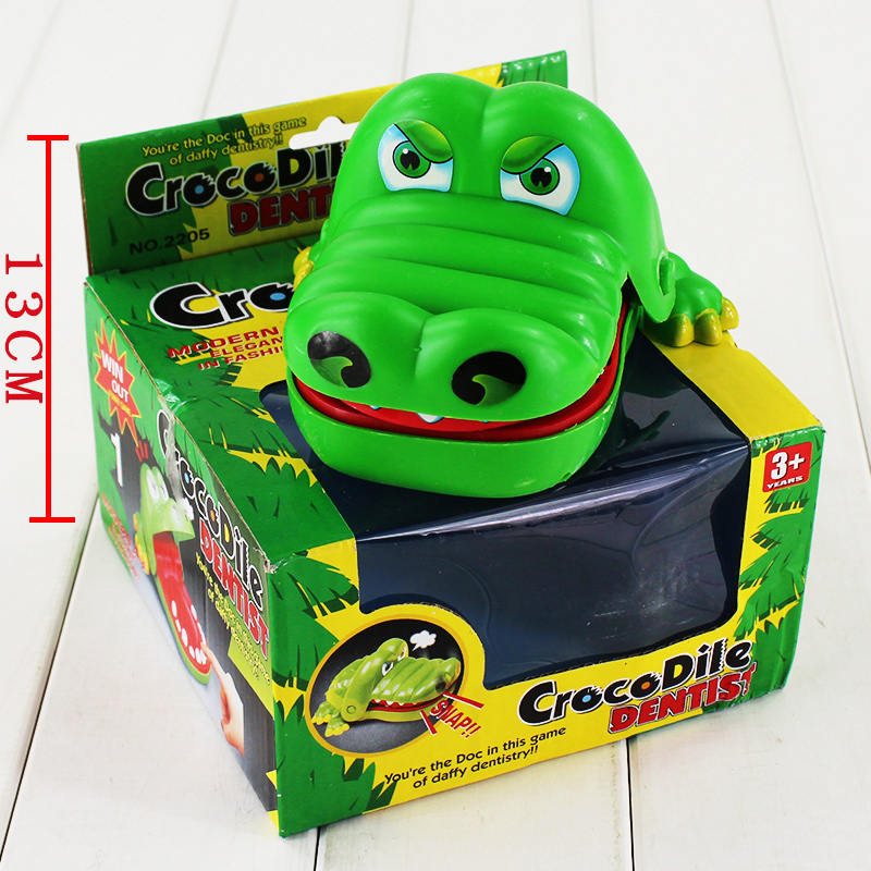 Funny Toys 8cm Crocodile Dentist Bite Finger Game Novetly Crocodile Teeth Press to Close Interesting Toy Gift for Kids<br><br>Aliexpress