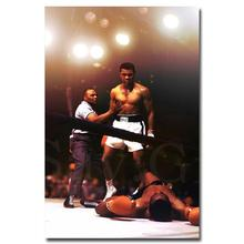 "Muhammad Ali-Haj Boxing Boxer Champion Art Silk Fabric Poster Print 12x18 24x36"" Sports Pictures For Bedroom Decor 001"
