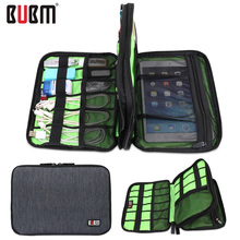Organizer System Kit Case Storage Bag Double Layer Cable Organizer Digital Gadget Devices USB Cable Earphone Pen Travel Bags