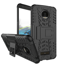 PC+TPU Hybrid Case Covers For Motorola Moto Z Force Verizon Vector maxx 5.5 inch Cases back covers Dual Armor housing shell bags