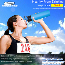 Buy 600ML Creative Collapsible Foldable Silicone Sport Water Bottle Camping Travel Cycling Drinking Kettle Bike Bicycle Water Bottle for $9.40 in AliExpress store