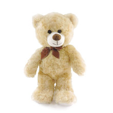 (5pcs/lot) Wholesale CuteTeddy Bear Kids Toys Stuffed Teddy Bears Plush Soft Toy Children Birthday Baby Shower Decor Gifts 30cm