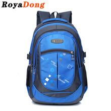 RoyaDong 2017 School Bags for Teenagers Boys Girls High Quality Children Students Backpacks Kids Nylon Backpack Child Book Bag