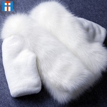 Fashion Kids clothes winter fur coat for girls baby clothes parka elegant clothing for girls girl outerwear luxury faux fur(China)