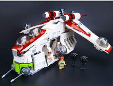 Lepin Republic Gunship 117Building Blocks Bricks Set Toy Gift Children 75021 Star Wars - Top Seller store