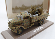 ATLAS 1/43 Germany Opel Kfz 305 Blitz military truck model Alloy model Collection model Holiday gift