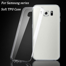 TPU Case for Samsung Galaxy Grand Prime A3 A5 A7 2016 J5 S6 S7 Edge S2 S3 S4 S5 mini Note 2 3 4 Transparent Clear Cover Case