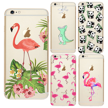 Animal Case for Coque iPhone 7 4 4S 5 5S SE 5C 6 6S Plus Cover for Samsung Galaxy J5 A3 A5 2016 Grand Prime S3 S4 S5 S6 S7 Edge