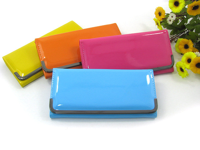 New  fashion brand leather long famous women female wallets clutch purses carteira feminina carteras de marca 40<br><br>Aliexpress