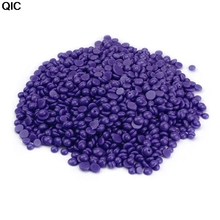 QIC Hard Wax Bean Lavender Painless Hair Removal Wax Bead Depilatory Pearl Wax Purple Lavender Removal Cream Color Hot Bikini(China)