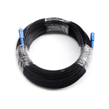200M Outdoor SC SM Simplex FTTH Drop Patch Cable SC Singlemode Simplex Fiber optic patch cord FTTH fiber optic jumper Cable(China)