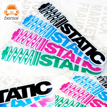HellaFlush STATIC Shock absorbers car sticker for ford focus 2 bmw e46 volkswagen vw golf 4 toyota mercedes stickers car-styling