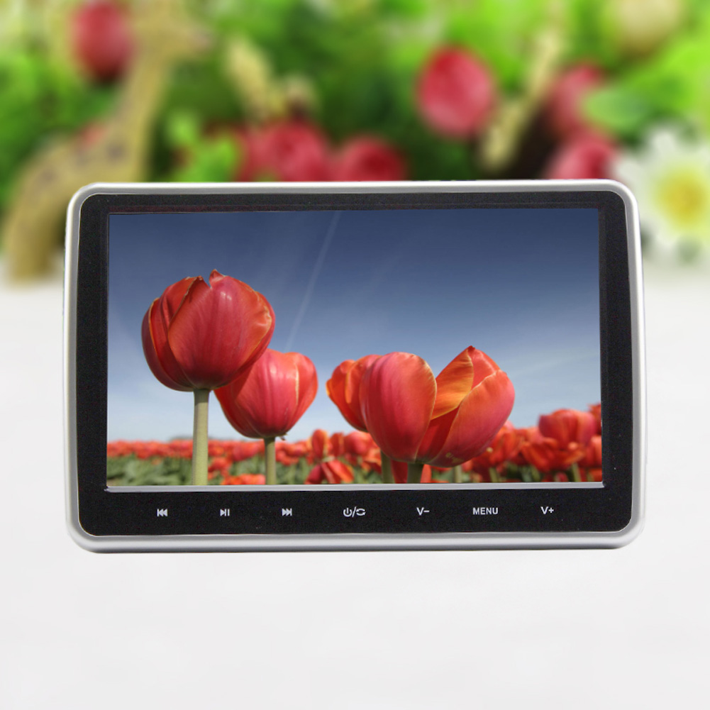 10 Inch HDMI HD Digital LCD Screen Car Headrest Monitor DVD/USB/SD Player IR/FM Car Monitors Free DVD Player With Gaming System<br><br>Aliexpress