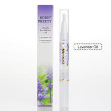 1 Pc 8ml Nail Care Oil Nail Nutrition Oil Pen Lavender Style Nutritional Cuticle Oil Nail Art Soften Tool # 845
