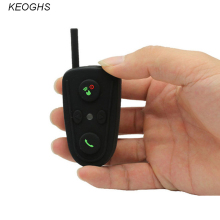 KEOGHS Motorcycle intercom bluetooth helmet headset intercom moto headphone for motorcycle communication waterrpoof 100m 2pcs