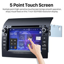 Seicane Android 7.1 Radio DVD Player 2007-2017 Fiat Ducato GPS Navigation Support Bluetooth USB 1080P Video DVR WIFI Aux