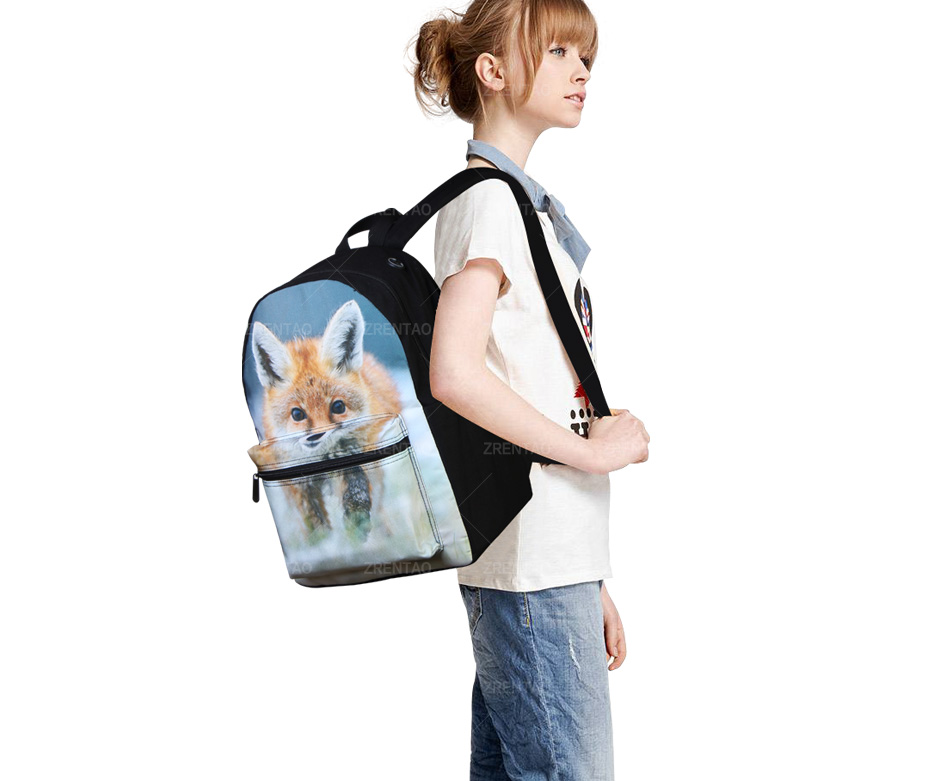school rucksack canvas