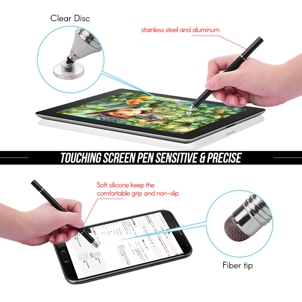 Stylus Pen Pencil Touchscreen Fine Tip Refill for Samsung Tab S3 T825 T820
