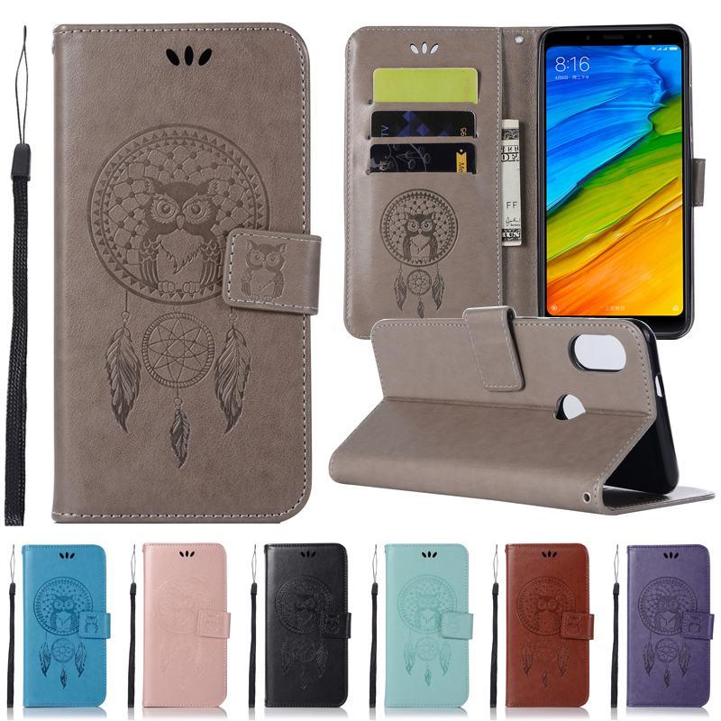 Xiaomi Redmi Note 5 Case Leather Wallet & Silicone Flip Cover Redmi Note 5 Phone Case Coque Xiaomi Redmi Note 5 Pro Case