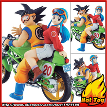 "100% Original MegaHouse DESKTOP REAL McCOY Complete Figure - Son Goku & Chichi from ""Dragon Ball Z""(China)"