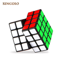 SINGDIO 4x4x4 Puzzle Magic Cube Professional Magic Neo Cube Game Kubik Rubika Speed Cube Learning Education Toys Children Gifts(China)