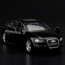 High Simulation Exquisite Diecasts&Toy Vehicles: KiNSMART Car Styling Audi A6 Luxury Car 1:38 Alloy Diecast Model Toy Car