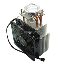 100W - 150W High Power Led Lamp Light Aluminum Cooling Heatsink Fan With 44.5MM Optical Led Lens Kit