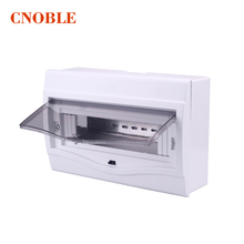 9 - 12 ways Plastic distribution box for circuit breaker indoor on the wall(China)
