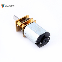 Micro Motor Speed Reduction Gear DC Motor with Metal Gearbox Wheel New DC12V 2000RPM N20 New