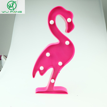 Hot Flamingo holiday party wedding Marquee Sign decor LED night lights plastic lamp mascot gifts favors Event Party Supplies
