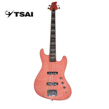 TSAI Electric Bass Electric Guitar 4 Strings High Quality Music Instrument Solid Wood Basswood Rosewood Maple for Guitarra play(China)