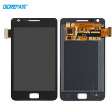 White Black For Samsung Galaxy S2 i9100 LCD Display Touch Screen Digitizer Full Assembly Replacements Free Shipping+Tracking No(China)