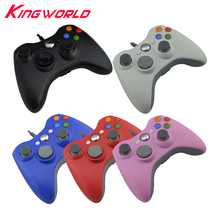 10pcs Wired USB PC controller Console Accessory Computer Gamepad Game for Microsoft Xbox 360 Joypad Joystick for Xbox360 Console(China)