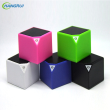 HANGRUI small box bluetooth speaker Wireless Loudspeaker portable music player speakers for the computer for xiaomi Smartphone
