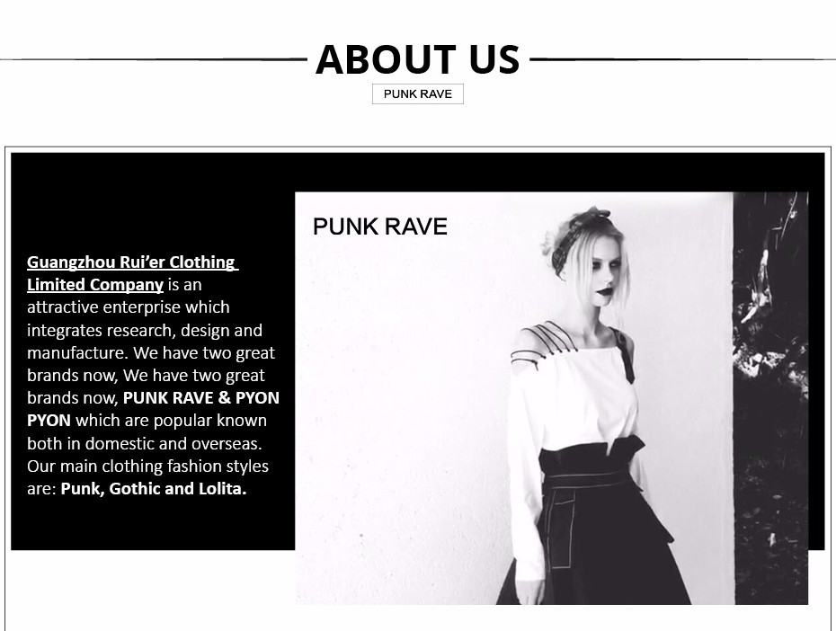 Punk rave company introduction (2)