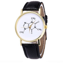 Fabulous Vansvar Watch Candy Color Men and women general chemical symbol watch Strap Wrist Watch reloj hombre New erkek saat