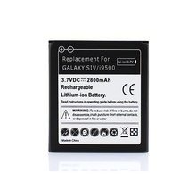 For Samsung Galaxy SIV S4 i9500 Phone Battery Mobile Cell Phone Replacement Battery 2800mAh Free Shipping Wholesale(China)