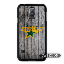 Dallas Stars Hockey Case For Galaxy S8 S7 S6 Edge Plus S5 S4 Active S3 mini Win Note 5 4 3 A7 A5 Core 2 Ace 4 3 Mega